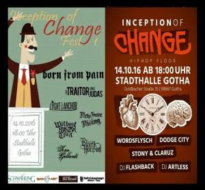 Inception of change 14Okt Gotha Bild